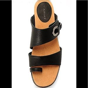 Ariat Kailey Leather Double Strap Toe Loop Sandals